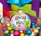 Special Aunt Ornament by Coton Colors