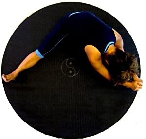 Amazon.com : Circle Round YIN-YANG Yoga Mat Meditation