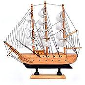Varanasi Enterprises Feng Shui Wooden Sailing Ship