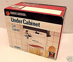 under cabinet can opener black amp decker space saver cabinet 27461