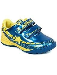 Zebra Boys' Synthetic Sports Shoes - B01539XP7C