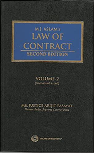 Law of Contract (Set of 2 Vols.) – 2017 -Book