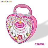 Pecoware Girls Charming Charms Necklace & Bracelet Pretend Play Set