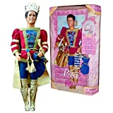 Mattel Year 1997 Barbie Classic Fairy Tale Rapunzel Series 12 Inch Doll - PRINCE KEN With Prince Out