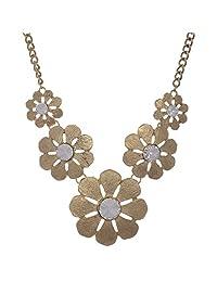 DECRON JEWELS Fashion 2015 Golden Alloy Necklace For Women