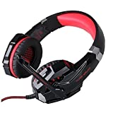 Beyda Tech New 3.5mm Gaming Headset Game Headphone Headsets With Microphone Led Light For Ps4 Laptop Tablet All...