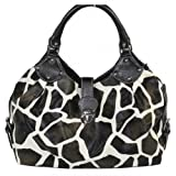 Giraffe Striped Print Handbag