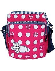 Super Drool Pink Dancing Polkas Sling Bag