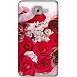 PrintVisa Designer Back Case Cover For Samsung Galaxy On Max (Pink White Love Lovely Romance)