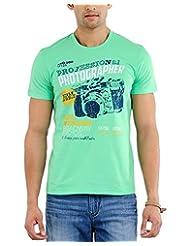 Yepme Men's Graphic Cotton T-shirt - B00O32WAOU