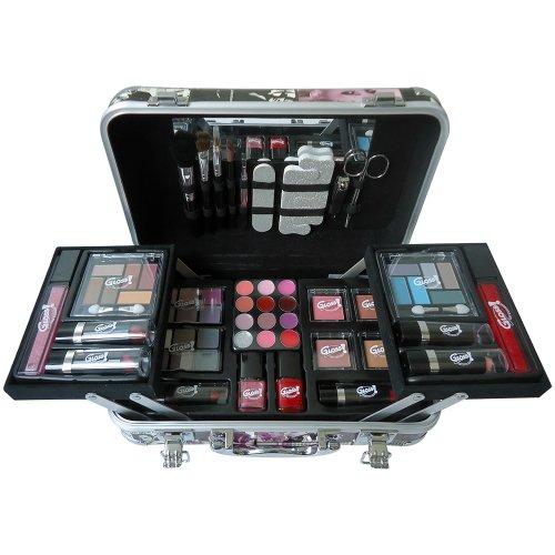 Gloss! Mallette de Maquillage Fashion Coffret 64 Pièces - Couleurs aléatoires
