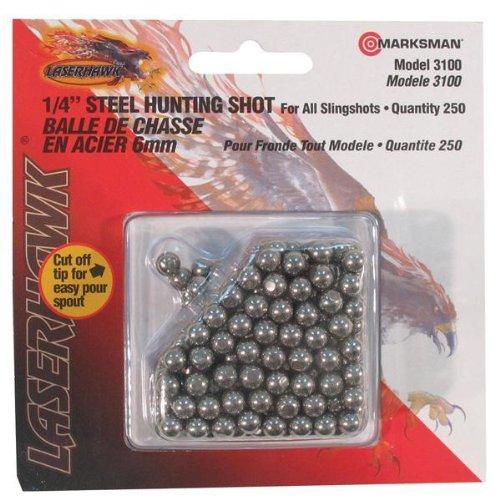slingshot ammunition steel shot 250