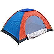 Tootpado Portable Outdoor Tent For 2, 4, And 6 Persons - Color May Vary - Camping Tent For All-Weather Use