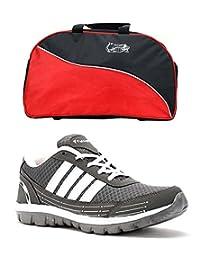 Elligator Shoes And Stylish Travel Bag - B00XJKAGSY
