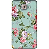 PrintVisa Designer Back Case Cover For Samsung Galaxy On Max (Pink Purple Red Colour Flower)