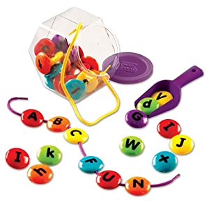 Amazon.com: Learning Resources Smart Snacks ABC Lacing ...