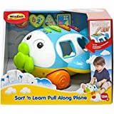 Winfun Sort And Learn Pull Along Plane, Multi Color
