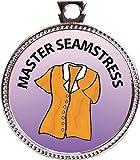 Keepsake Awards Master Seamstress Silver Award Disk