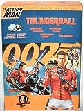 James Bond 007 Thunderball Action Man 12-Inch Action Figure Hasbro Toy (1997)