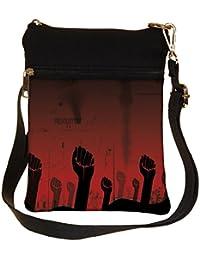 Snoogg Revolution Hand Cross Body Tote Bag / Shoulder Sling Carry Bag