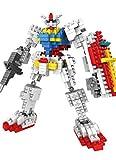 LOZ Diamond Block I Robots Gundam D Series Parent-child Games Building Blocks Children's Educational Toys -440pcs