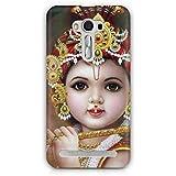 Cover Affair Bal Krishna 3D Printed Back Cover Case For Asus Zenfone 2 Laser ZE550KL