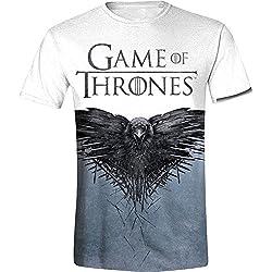 Juego de Tronos Raven Camiseta estampado M