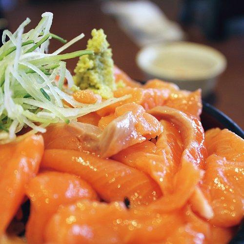 トロサーモン丼(カット済み)