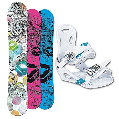 FTWO SET Snowboard GIPSY Lady 154cm + Eco Bindung 2014