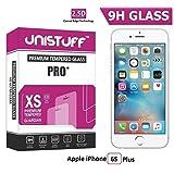 Unistuff™ 2.5D Curve Edge Kristal Clear PRO+ Tempered Glass For Apple IPhone 6S Plus