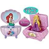 Disney Princess Ariel & Rapunzel Musical Jewelry Boxes Gift Set Bundle 2 Pack