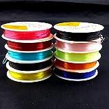 Alcoa Prime New 0. 8mm Trendy Transparent Elastic String DIY Beads Craft Accessories Bracelet Rope Hot Good Quality