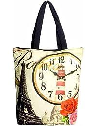 Addyz Fabric Shopping Travel Bag, 39X36.5X9.5 Cms Multi