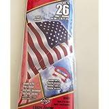 "26"" Poly Kite Ready To Fly ""Flag"" Design Stars And Stripes USA"