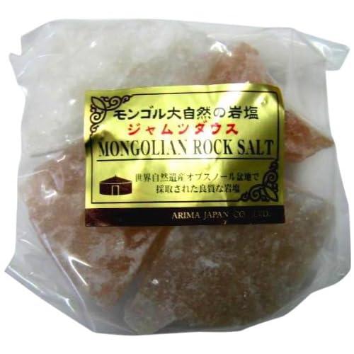 大自然モンゴルの岩塩ジャムツダウス かち割りタイプ 250g