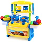 Toys Bhoomi Dream Kitchen Interactive Little Chef Kids Simulation Cookware Play Set With Light & Sound - B0731K34J9