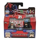 Minimates Marvel Comics Series 46: The Amazing Spider-Man Uncle Ben & Lizard Trooper 2 Inch Mini Figure 2-Pack...