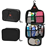 P.Ku.Vdsl Hanging Toiletry Bag Travel Storage Makeup Cosmetic Bag Beauty Kit Ykk Zipper Tour Case For Men Or Women...