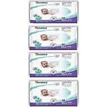 Himalaya Combo Herbals Gentle Baby Wipes - 24 Wipes (Pack Of 4)