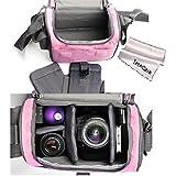 TechCare Ultra Light Camera Case Bag For Canon Rebel T3i (EOS 600D), T4i (EOS 650D), SL1 (EOS 100D), T5i (EOS...
