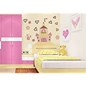SYGA Princess Castle Wall Stickers Decals Design