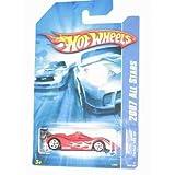 #2007 139 Ferrari 333 Sp Red White 5 Spoke Wheels Collectible Collector Car Mattel Hot Wheels