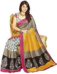 Glory Sarees Women's Bhagalpuri Art Silk Saree