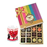 Chocholik Luxury Chocolates - Impressive Truffles Treat With Love Mug