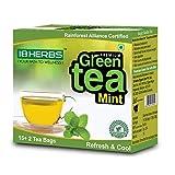 18Herbs Green Tea With Mint-17 Bags Premium Rainforest Alliance Certified