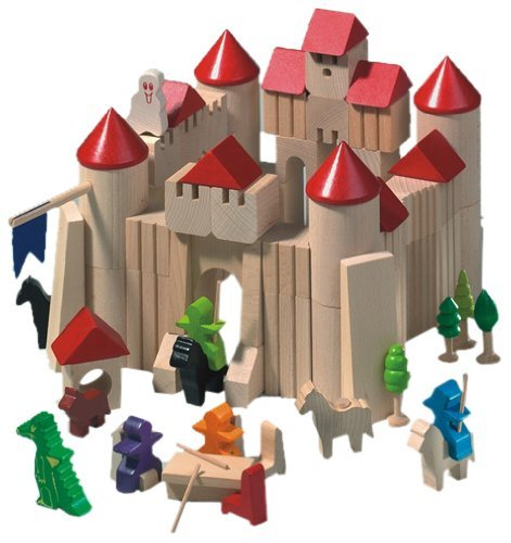 Haba Ghost Tower and Castle Block Set by HABA