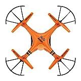 Hosim Aviax H2O waterproof Drone Headless Mode 2.4GHz 6Axis Gyro Quadcopter RC Explorers LED flashing lights support DIY(Orange)