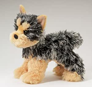 "Amazon.com: Yonkers Yorkie 8"" by Douglas Cuddle Toys: Toys"