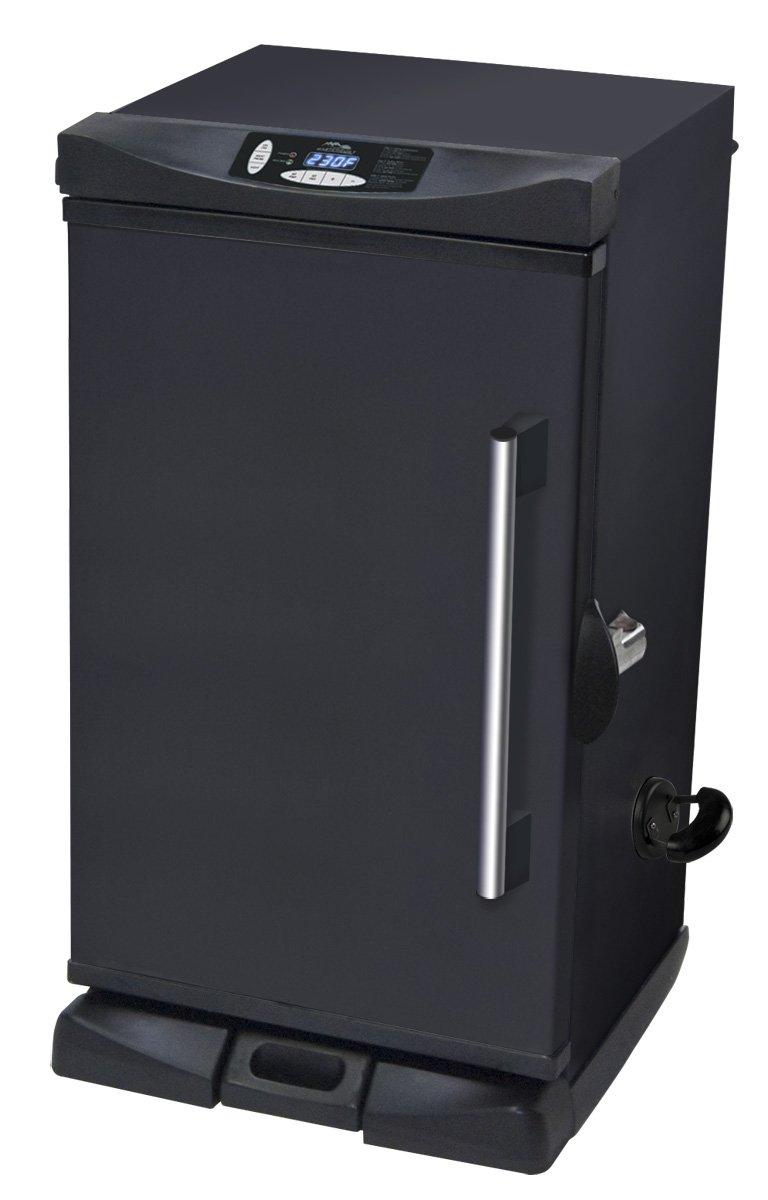 Masterbuilt 20070213 30 inch black electric digital smoker for Smoked fish in masterbuilt electric smoker