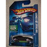 #2006-206 Ford Shelby GR-1 Concept Black Collectible Collector Car Mattel Hot Wheels